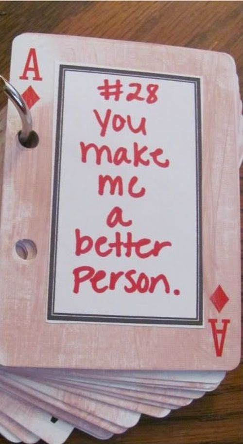 cards with inscriptions about love