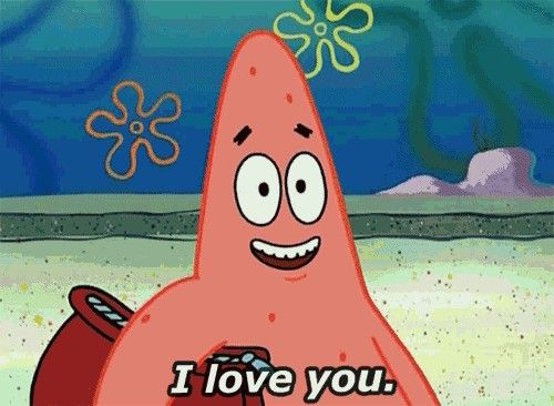 Patrick admits his love