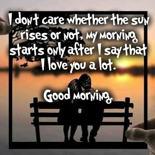 Romantic Good Morning Love Images For Him And Her