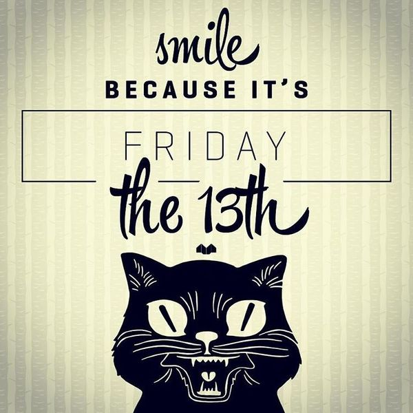 friday the 13th quotes and black cat
