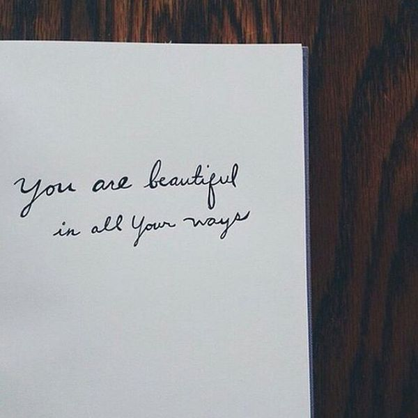 4 You Are Beautiful In All Your Ways