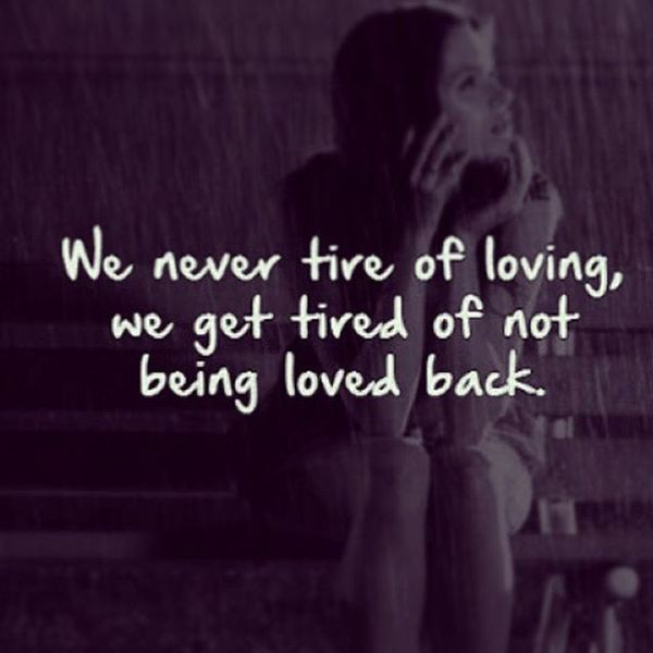 quotes about not being loved - photo #26