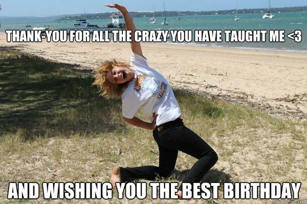 Funny Birthday Memes For Your Best Friend : Thank you for the birthday wishes with memes and images