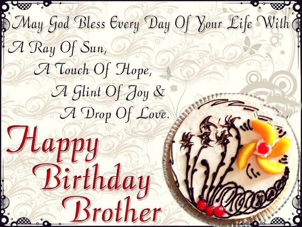 70 happy birthday brother quotes and wishes with images happy birthday brother cute images voltagebd Gallery