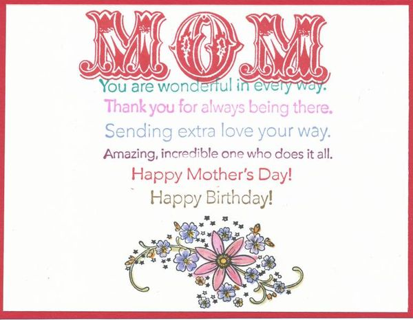 Happy Birthday Mom Quotes 4