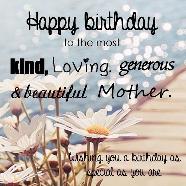 Happy Birthday Quotes For Mom Entrancing 101 Happy Birthday Mom Quotes And Wishes With Images