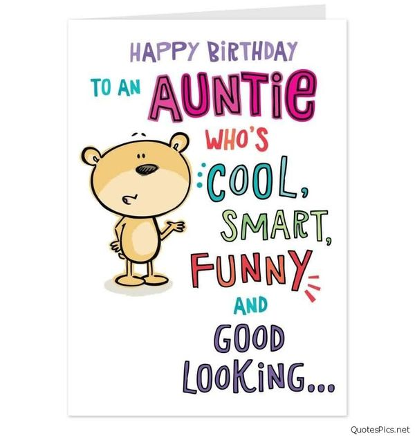 cool e-card birthday wishes for aunt