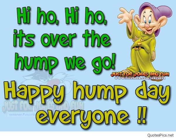Happy Hump Day Everyone