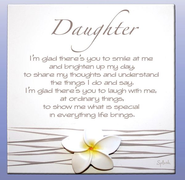 Wonderful I Love My Daughter Quotes