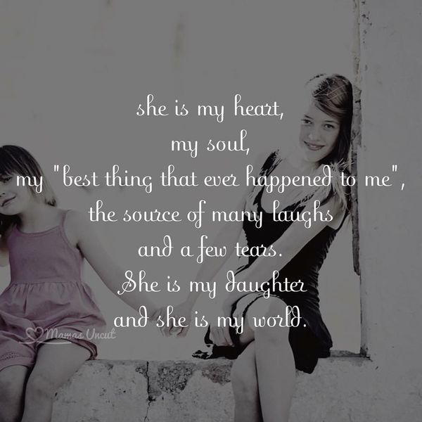 I Love My Daughter Quotes And Sayings Fascinating 68 Mother Daughter Quotesbest Mom And Daughter Images