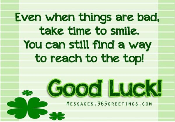 Good Luck Quotes Inspiration Inspirational Good Luck Quotes