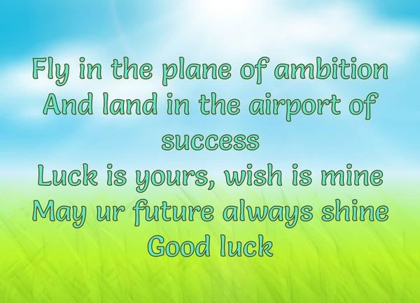 Good Luck On Your Exam Quotes: Inspirational Good Luck Quotes