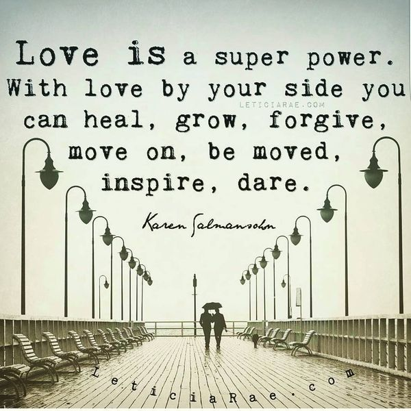 Love Is A Super Power...