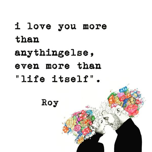 Image of: Sayings Love You More Than Anythingelse Even More Than Sweety Text Messages Cute Short Love Quotes For Her And Him