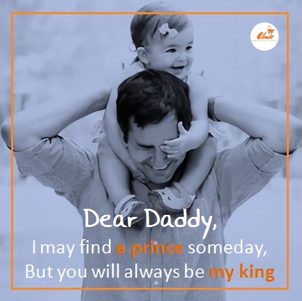 Cute Father's Day with Interesting Quotes