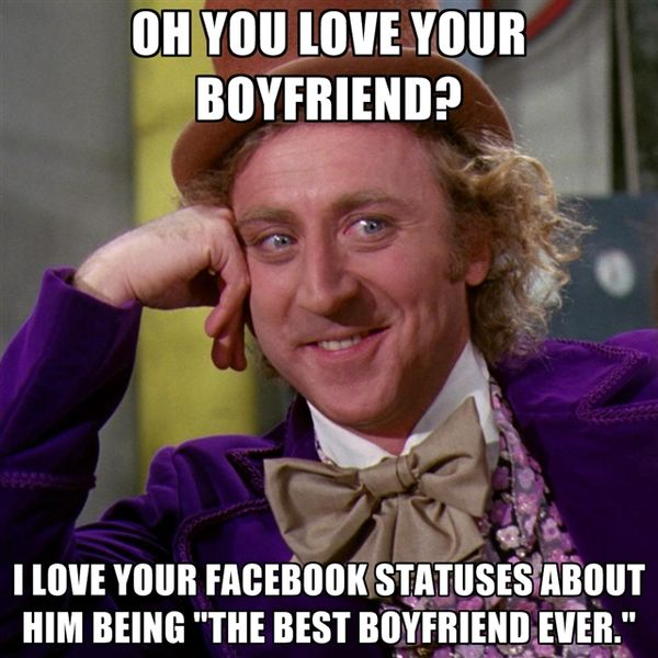 Oh You Love Your Boyfriend