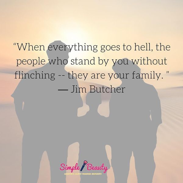 When Everything Goes to Hell, the People Who Stand by You...