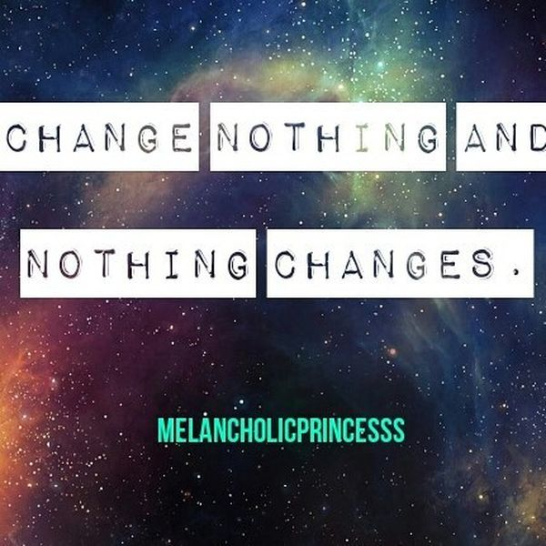 Charming Change Nothing And Nothing Changes