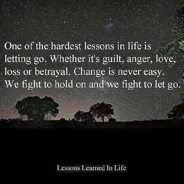 Image of: Motivational Quotes One Of The Hardest Lessons In Life Is Letting Go Sweety Text Messages Deep Quotes 100 Best Deep Quotes About Love And Life
