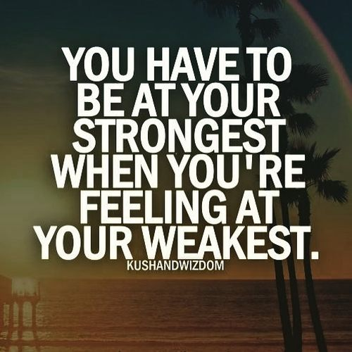 Showy Positive Quotes about Staying Strong Through Hard Times
