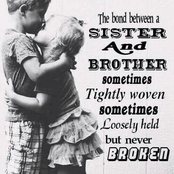 Sibling Quotes 60 Best Brother and Sister Quotes Ideas Delectable Brother And Sister Love Quotes