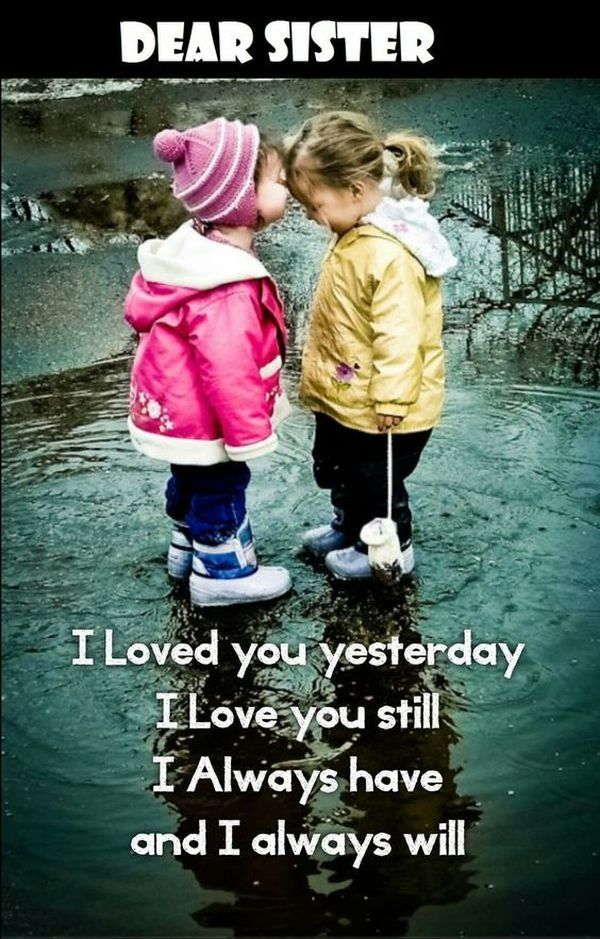 I Love You Sister Quotes Unique Sibling Quotes 48 Best Brother And Sister Quotes Ideas