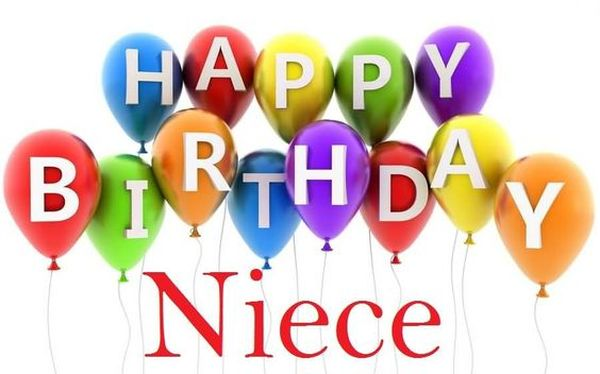 Free Birthday Clipart For Niece ~ Happy birthday niece quotes and wishes with images