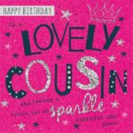 Lovely happy birthday cousin images