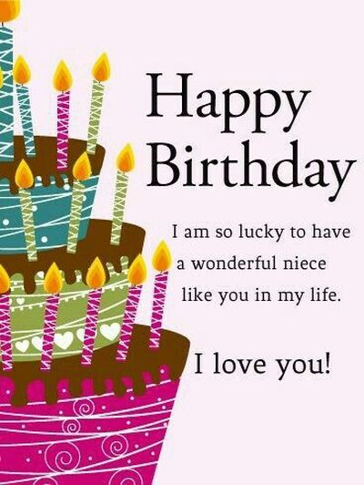 110 Happy Birthday Niece Quotes Andwishes With Images