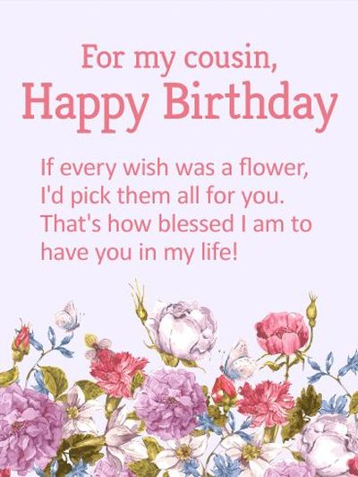 130 Happy Birthday Cousin Quotes Images And Memes