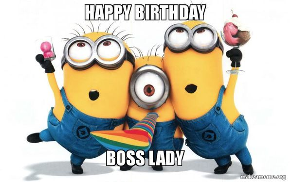 Funny Birthday Memes For Your Boss : Happy birthday wishes for boss message lady
