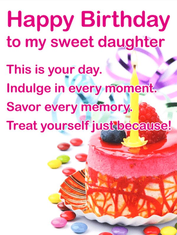Happy birthday wishes for daughter from mom awesome birthday wishes for sweet daughters m4hsunfo