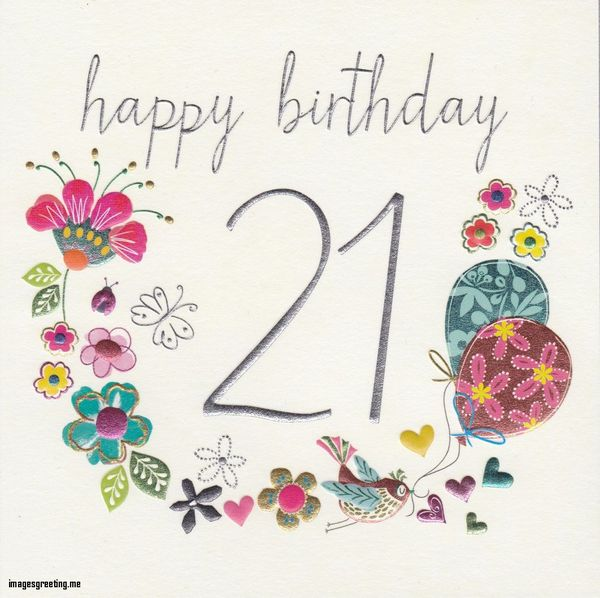 Happy 21st Birthday Memes, Quotes and Funny Images