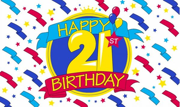Astonishing 21st Birthday Images Graphics Free
