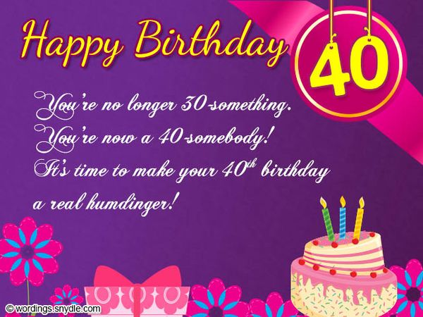 Happy 40th birthday quotes images and memes terrific 40th birthday messages for sister bookmarktalkfo Choice Image