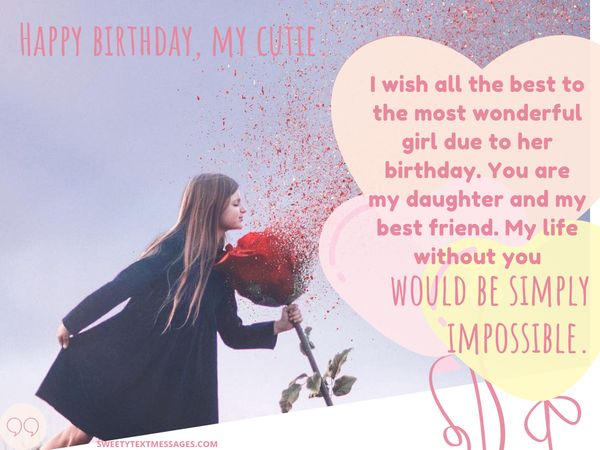 Heart Touching Birthday Quotes For Daughter