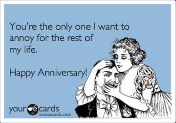 Happy Anniversary Funny Wishes 1