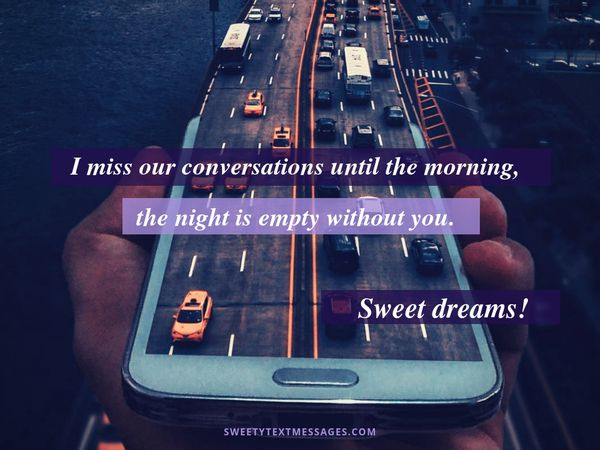Cute Goodnight Texts For Her Quotes And Messages