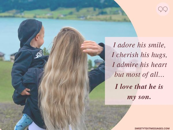Mother And Son Quotes Best Son Quotes From Mom With Love
