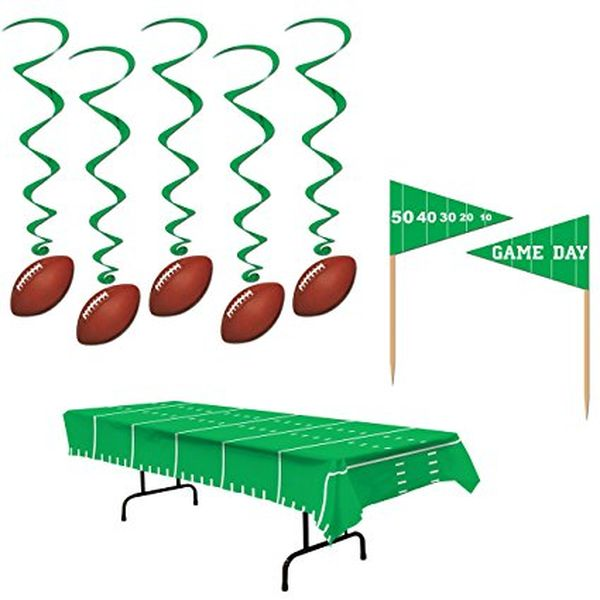 Game Day Football NFL Super Bowl Party Decorations