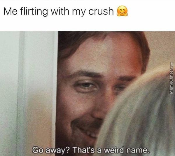 flirting memes with men names for women 2017 2018