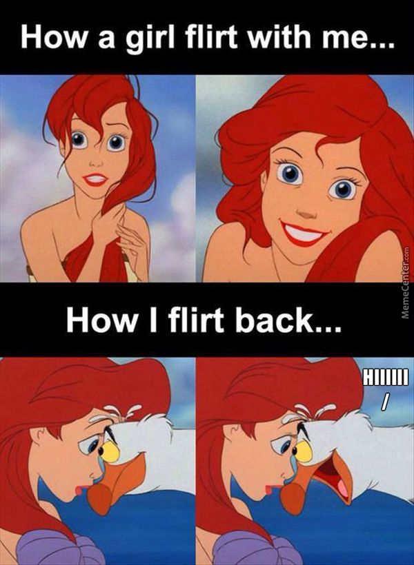 flirting signs for girls birthday meme funny images