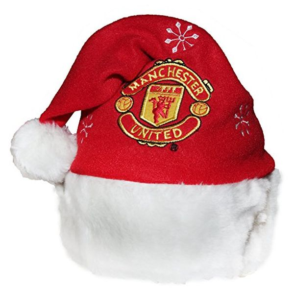 Manchester United Novelty Christmas Santa Hat