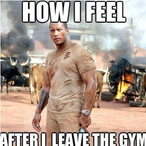 After Fitness Meme