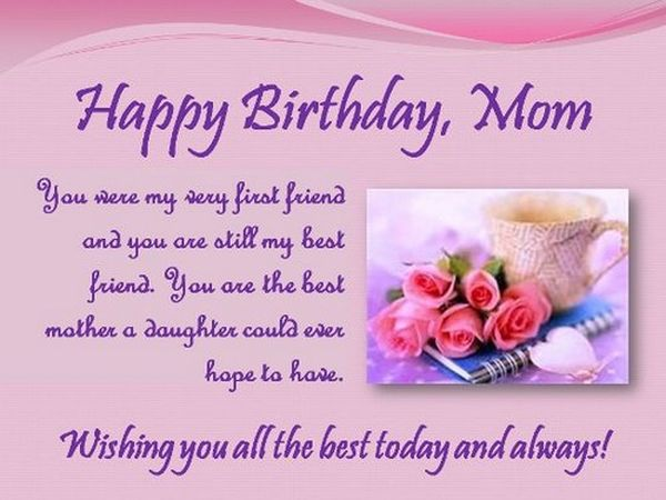 Describe The Way You Feel About Your Mom Its Ok Colorful Birthday Cards Can Say A Lot More Than Think And We Have Some Great Examples Here