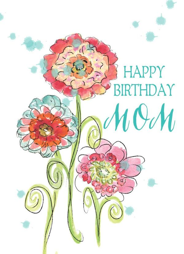 happy birthday mom from daughter quotes and images