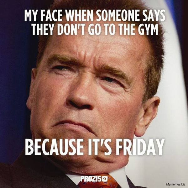Friday Workout Meme 3