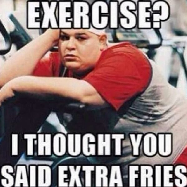 Funny Exercise Memes