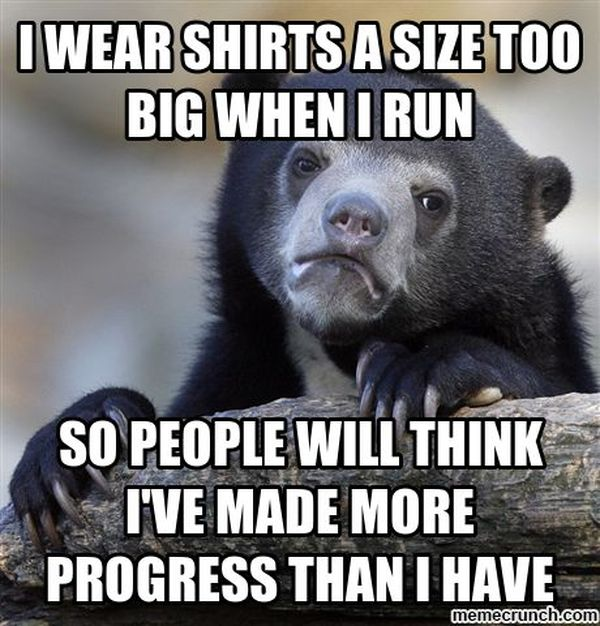 Funny Memes About Working Out in New Gym Clothes 5