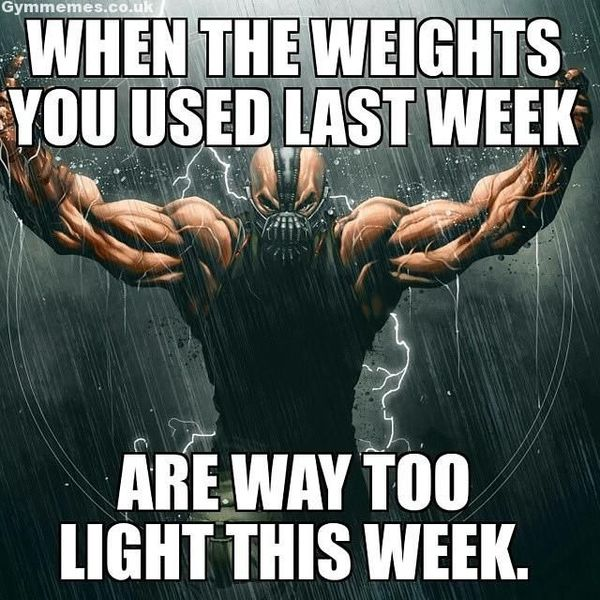 Inspirational Weight Lifting Memes